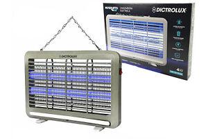 Zanzariera Elettrica Da Esterno Mosquito LED 4W fulmina zanzare insetti 809604