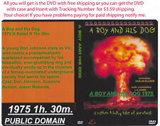 A Boy and His Dog 1975 Cult Sci-Fi film Dvd {Disc Only} {You Choose Shipping}