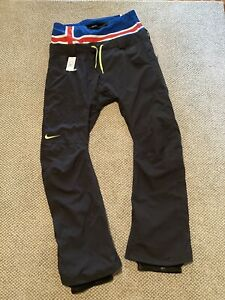 Nike SB Enigma Snowboarding Pants Black Extremely Rare Size XL