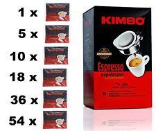 Kimbo ESE Espresso Napoletano Coffee Pods Single Serving Paper Pods