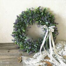 Artificial Leaf Wreath Bow Door Hanging Wall Window Decor Wreath Festival Weddin