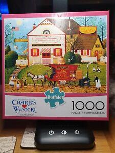 Buffalo Games, Charles Wysocki Sugar And Spice 1000 Piece Jigsaw Puzzle US...