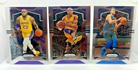 2019-20 Prizm Basketball Complete BASE Set - LeBron, Kobe, Luka ETC Cards #1-247