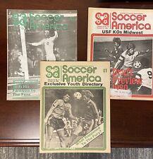 October 1980 Soccer America lot (3) NASL