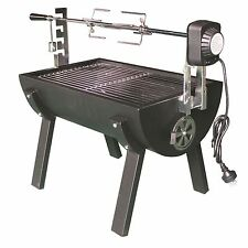 Jumbuck Rondo Spit Roaster BBQ Rotisserie Grill Hog Roast Meat Barbecue New
