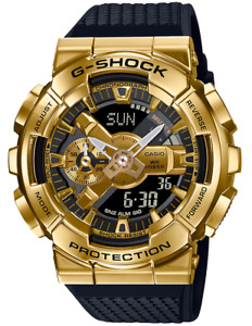 Casio G-Shock Stainless Steel Bezel GM110G-1A9 Gold Analog-Digita 2020
