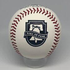 Rawlings Official Phillies Wall of Fame WOF Logo Unsigned Baseball NIB U28