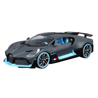 1:/18 Bugatti Chiron Divo  Diecast Alloy collection  Car Model Boys Toys Grey