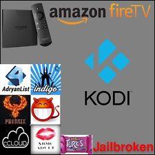 Amazon Fire TV 4K WITH KODI 17.3 ~ Full Package