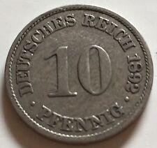 10 Pfennig Deutsches Reich 1892 N1