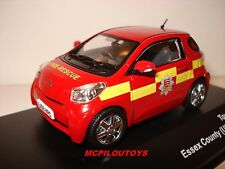 J-COLLECTION JC169 TOYOTA IQ ESSEX COUNTY UK  FIRE BRIGADE 2009 au 1/43°