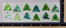 Sandylion CHRISTMAS TREES Stickers PRISMATIC