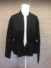 Victoria Beckham for Target XS Black Formal Peplum Blazer Jacket Long Sleeve XS