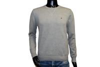 Neu Tommy Hilfiger Herren Sweater Pullover grau