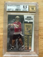 2000 Playoff Contenders #143 Marc Bulger Football Rookie Card RC BGS 8.5 10 AUTO