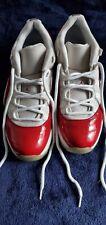 Air Jordan 11 Retro Low Cherry White/Varsity Red-Black 528895-102 SIZE 10.5