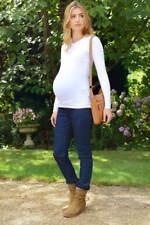 Stretch Maternity Denim Jeans: Under Bump (Short Petite Regular Long Tall) XL UK