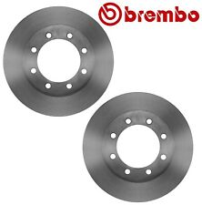 Pair Set of 2 Front Disc Brake Rotors 369 mm Brembo For Ford F-Series Super Duty