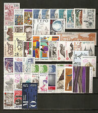 FRANCE - 1986 - année complete - Yvert # 2393/2451 - état: neufs (**)