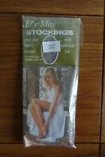 Vintage Elly May Stockings One Size Light Grey*
