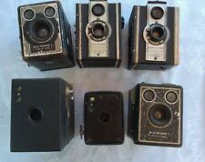 Job Lot Vintage Box Cameras For Projects / Repairs