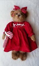 "2005 Bearington Bears Candi Cane 14"" Retired Collectible Plush Teddy Bear Xmas"