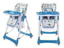 Baby Kombi Hochstuhl- PRIMA - Blau Farben (D)