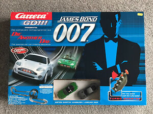 2002 Factory SEALED James Bond Carrera Scalextric 007 Vanquish XKR DieAnotherDay
