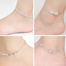 Sexy Womens Girls Star Bells Chain Anklet Bracelet Barefoot Sandal Foot Jewelry