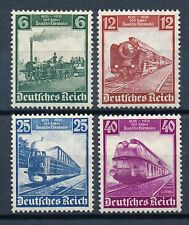 Ungeprüfte Briefmarken aus dem deutschen Reich (1933-1945) mit Postfrisch und Eisenbahn