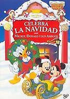 Pelicula Disney DVD celebra la Navidad con Michey Donald y sus amigos Nu...