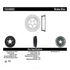 Brake Drum-Wagon Rear Centric 122.62023