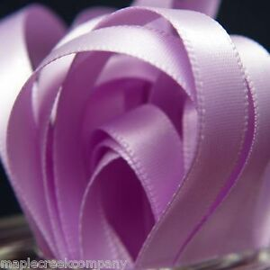 Double Face Satin Ribbon 7/8 inch x 5 yards (15 feet of ribbon) 34 COLORS