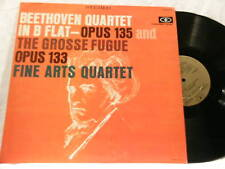 BEETHOVEN String Qt Grosse Fugue Fine Arts Quartet LP