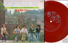 "7""JAPAN PROMO RED FLEXI GATEFOLD IAN MITCHELL & ROSETTA STONE BAY CITY ROLLERS"