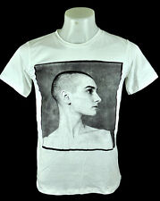 Sinead O'Connor White T-Shirt Indy punk Rock 100% cotton Tee unisex Size S