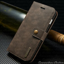 Leather Removable Wallet Magnetic Flip Card Slot Case Cover iPhone 7 & 6s Plus