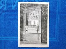 Roma nel 1877 - Tomba del Cardinal Ferrici, alla Minerva