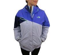 The North Face Women's Hyvent Rain Jacket Medium Purple Coat Hooded Full Zip