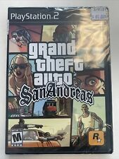 Grand Theft Auto San Andreas Ps2 New Factory Sealed Condition!