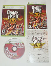 Guitar Hero Aerosmith Microsoft Xbox 360 2008 Great Condition Complete Tested