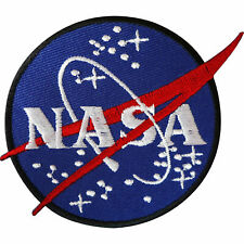 NASA EMBROIDERED Patch Iron On /Sew On Astronaut Space Jacket Dress Badge