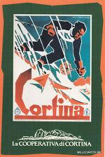* CORTINA D'AMPEZZO - La Cooperativa, Manifesti - Cortina Sci, F.Lenhart