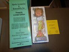 NEW 1996 SAM Princess Diana of Wales Bobbing Head Doll Bobblehead Yellow Dress