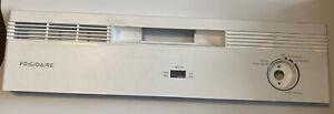 Frigidaire 154667444 Dishwasher Control Panel and Overlay (White) Genuine OEM