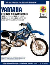2000 Yamaha YZ125 Haynes Online Repair Manual - 1 YR Access