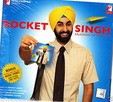 ROCKET SINGH - NEW BOLLYWOOD SOUNDTRACK CD SONGS - FREE UK POST