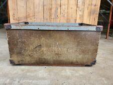Vintage Industrial Storage Bin Fibre Mail Tote Box Basket Vulcanized Decor