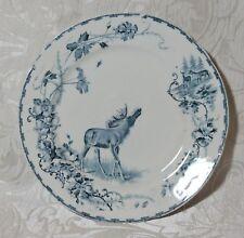 Piatto  di ceramica con Alce della Goteborgs Posilinfabrik Elg Pattern 1905