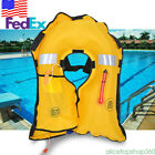 Auto Inflatable PFD Life Jacket Professional Adult Fishing Swimming Survival